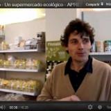 Vídeo de un supermercado ecológico