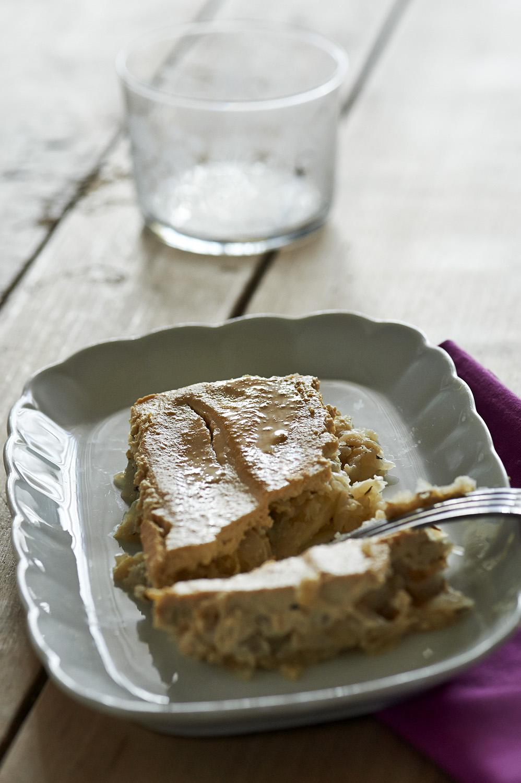 Quiché de tofu