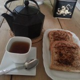 "Té y pan ""tumaca"" macro"