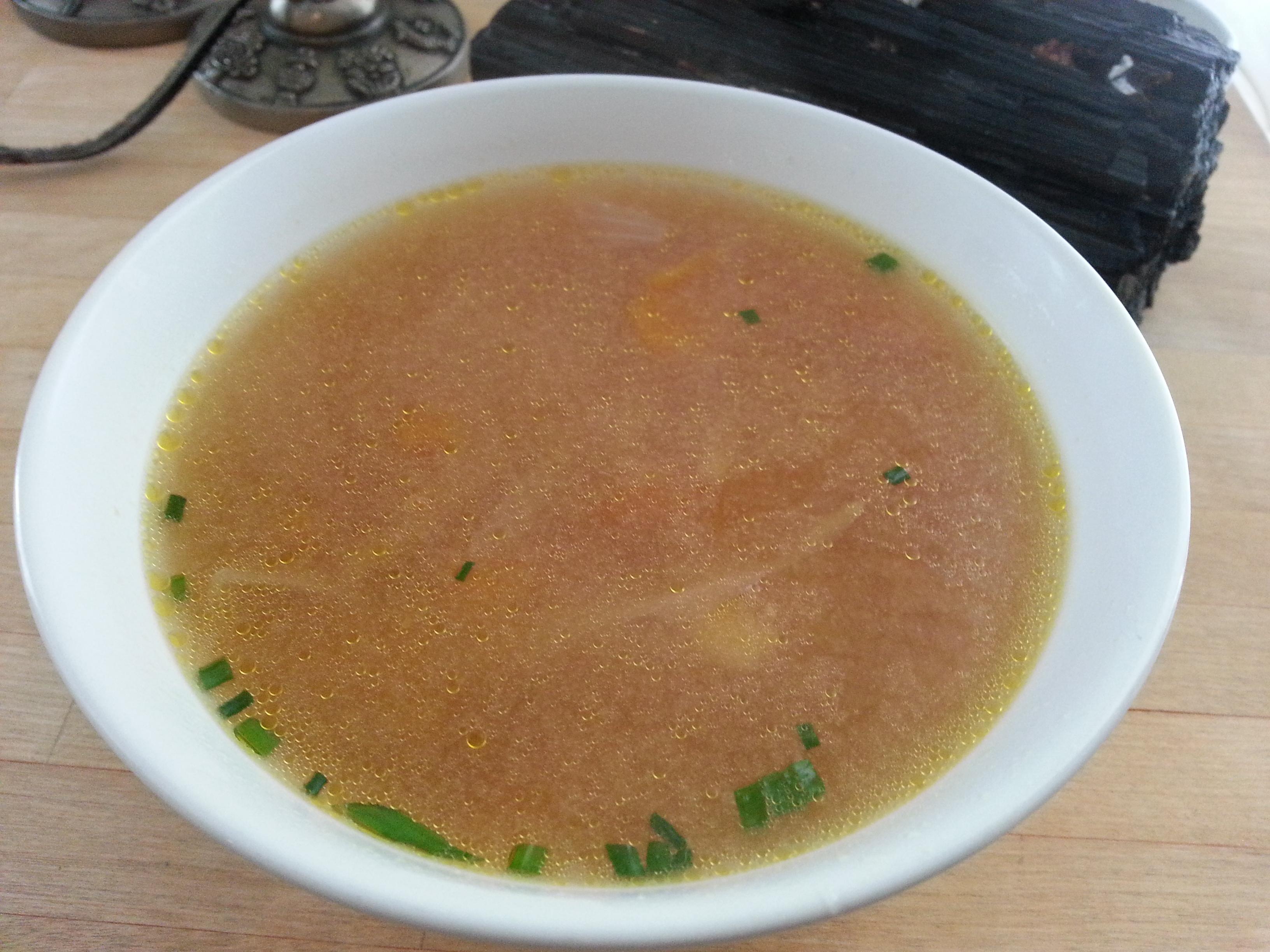 Sopa de kimpira