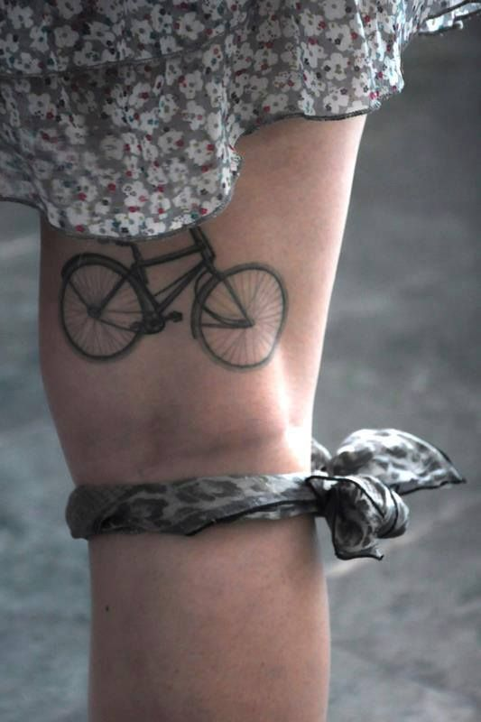 Bici tattoo