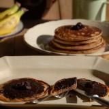 Tortitas veganas de plátano