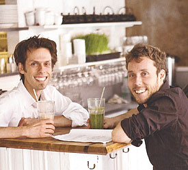 David Coté y Mathieu Gallant