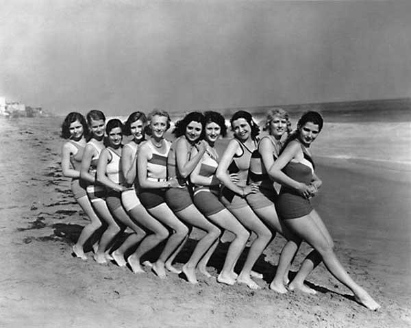 En los años 30 no existía la operación bikini.