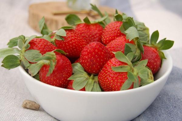 Son como un imán para mí. Veo fresas en una frutería y tengo que entrar a verlas