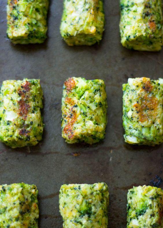 croquetas brócoli
