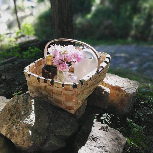 desayunos en cesta
